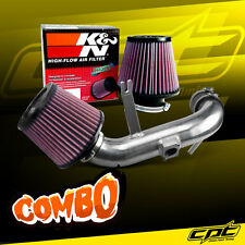 09-15 Lancer 2.4L 4cyl Automatic Polish Cold Air Intake + K&N Air Filter