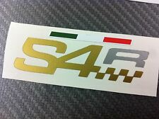 1 Adesivo Stickers DUCATI S4 R fianchetto serbatoio gold e silver