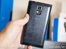 Genuine Samsung flip étui portefeuille noir housse pour Samsung Galaxy S5/S5 Neo