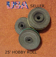 (3 pack) 220, 320, 400 EMERY CLOTH HOBBY ROLL SAND PAPER sandpaper