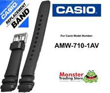 REPLACEMENT CASIO WATCH BAND ORIGINAL ONLY FITS: AMW-710-1AV,AMW-710,AMW710