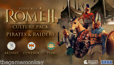 TOTAL WAR ROME II PIRATES AND RAIDERS DLC ( STEAM key )