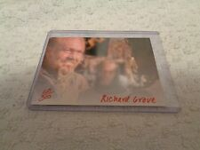 Army of Darkness Signature Card Autographed by Richard Grove #168/300 Red Ink