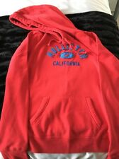 Hollister Hoodie Sweatshirt L Red And Blue