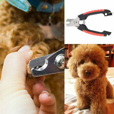 Hot Dog Cat Puppy Pet Nail Toe Clipper Grooming Claw Cutter Trimmer Scissors BA