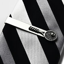 Tennis Tie Clip - Tie Bar - Tie Clasp - Business Gift - Handmade - Gift Box