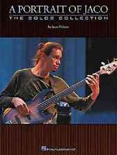 PORTRAIT OF JACO PASTORIUS BASS GUITAR TAB BOOK