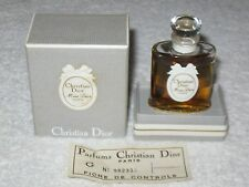 Vintage Christian Dior Miss Dior Perfume Bottle/Box 1/2 OZ Sealed - 3/4 Full, #2