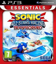 SONIC & ALL STARS TRANSFORMED PS3 * JEU EN FRANCAIS * VERS EUROPE * NEUF S/CELLO