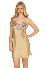 Luxurious Pure Mulberry Silk Belle Charm Chemise NEW with Tags & Gift Box Size M