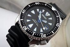 Seiko Custom New Monster Black/Blue Submariner Automatic Diver's Date Watch 7002