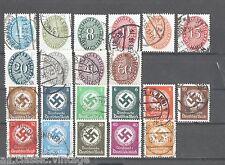 Germany - Deutschland - Nice lot Deutsches Reich Used Set 5