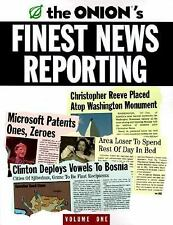 The Onion's Finest News Reporting Vol. 1 (Paperback)