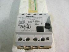 Siemens 5SZ3 346 Circuit Breaker, 500V, 50A, 3 Pol, IP 40, NFI-Schutzschalter