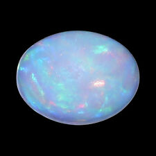 0.79 Ct Ethiopian Fire Opal Loose Gemstone Oval For Jewellery Mother's Day Gift