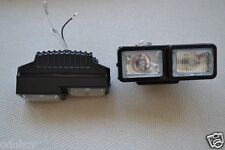 2 Front Double Function Halogen Spot Fog Lights 12V Lamps for Car Van Bus Truck