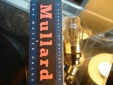 MULLARD AZ1 BRITISH VINTAGE BLACK BURN FACTORY NEW OLD STOCK VALVE TUBE