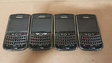 1614 LOT OF 4 Verizon BlackBerry Curve 9630 AS IS UNTESTED