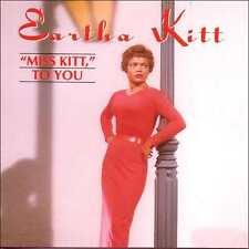 EARTHA KITT : MISS KITT TO YOU (CD) sealed