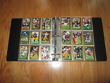 1998 Topps Complete Football Set in a Binder - Peyton  Manning RC