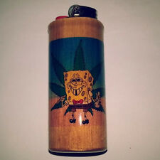Sponge Bob Weed Bic Lighter Case Holder Sleeve Cover