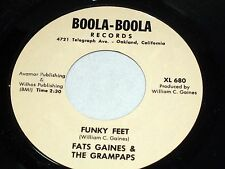 Fats Gaines and the Grampaps: Funky Feet / Without a Feeling  [Unplayed Copy]