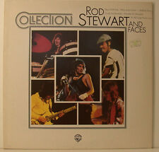 """ROD STEWART AND FACES - COLLECTION 12"""" LP (j518)"""