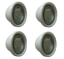 Power Wheels White Wheel Retainer Cap Nuts, 4-Pack - 00801-1452