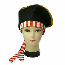 Pirate Hat Halloween Pirate Fancy Dress Hat
