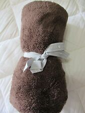 NEW with Ribbon Tie OLD NAVY Soft Sherpa BROWN or IVORY Security Blanket Lovey