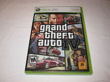 Grand Theft Auto IV, 4 (Microsoft Xbox 360) Original Complete w/Map Excellent!