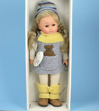 "GOTZ 17.5"" Vinyl DOLL Blonde GIRL Made In Germany ""NISSA"""