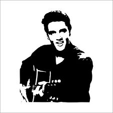 Famous ELVIS Elvis Presley Vinyl Art Wall Stickers Decals Home Decor Removable