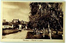 Cartolina Formato Piccolo - Verduno - Entrata In Paese Viaggiata (Francoboll