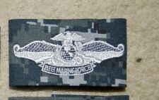 NEW  NAVY,FLEET MARINE FORCE ENLISTED,BADGE,CLOTH,NWU T-I AOR CAMO