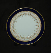 "Royal Worcester China 6"" Bread Plate(s) in Their Regency Blue Pattern"