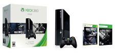 Microsoft Xbox 360 E Holiday Value Bundle 500 GB Black Console - NEW - RARE!