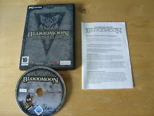 PC CD ROM GAME - The Elder Scrolls lll BLOODMOON Morrowind Expansion *FREE P&P*