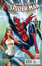AMAZING SPIDER-MAN VOL.3 #1 MIDTOWN COMICS J SCOTT CAMPBELL COVER
