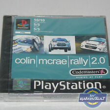 Colin McRae Rally 2.0 - Sony PlayStation 1 PS1 Game UK PAL - New Factory Sealed