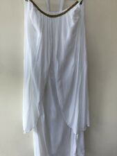 Mango Reef  Long  Maxi White Cotton Sundress L