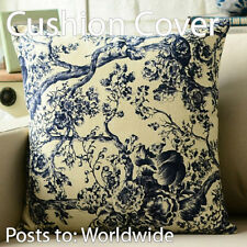 """Chinese old Blue and white Tree ANTIQUE Throw Pillow Case Cushion Cover 18""""x45cm"""