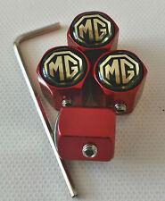 Mg Rojo Antirrobo De Polvo Tapas De La Válvula limitada Astra Corsa Todos Los Modelos Ideal Regalo