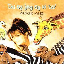 CD Wenche Wencke Myhre NORWEGISCH, Du Og Jeg Og Vi To, Kinderlieder, RAR, NEU