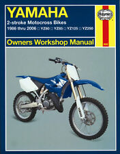 MAN2662 Haynes Manual Handbuch YAMAHA YZ YZ80 YZ85 YZ125 YZ250 1986 to 2006