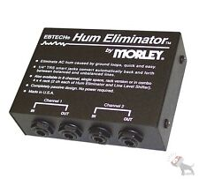 "Ebtech HE-2 Hum Eliminator by Morley 2-Channel Passive Design 1/4"" I/O HE2"