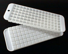 2 CUBETTE Cubic MINI Ice CUBE Stackable TRAYS Molds ~ 180 ICECUBES ~ BPA FREE