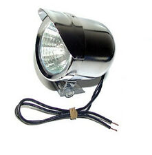 12 Volt Halogen Chrome Headlight (2 inch len)   for  mini Scooter or Bicycle