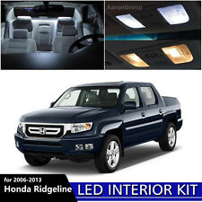 17PCS White Interior LED Light Package Kit For 2006-2013 Honda Ridgeline
