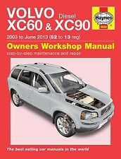 Volvo XC60 & XC90 Turbo-Diesel - Reparaturanleitung workshop repair manual Buch